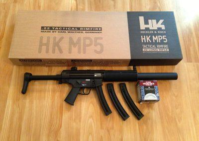 HK MP5 A5 cal 22LR